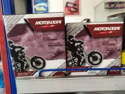Bateria moto 6 amperes motorlight
