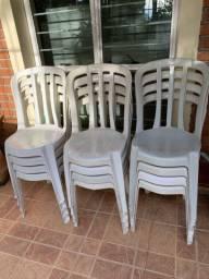 Cadeiras de plástico goyania