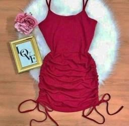 Vestido canelada