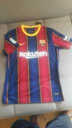 Camisa Barcelona 2021 (Messi 10) $90