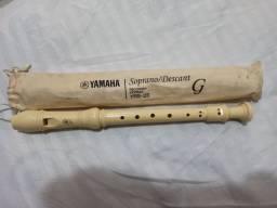 Flauta doce Yamaha nova
