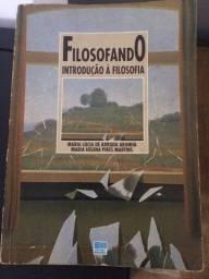 Título do anúncio: Filosofando - Introdução a filosofia - Maria Lúcia de Arruda Aranha