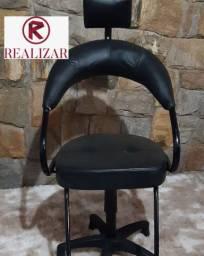 cadeira de cabelereiro modelo Futurama