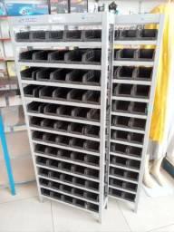 Estante gaveteiro com 60 gavetas n°03 (nova)