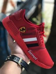 Tênis Adidas Ferrari ( 38 ao 43 ) -- 3 Cores Disponíveis