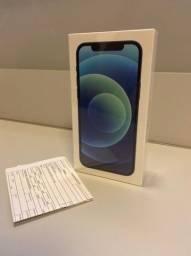 Iphone 12 64 GB Azul - Novo e lacrado (com nota fiscal)