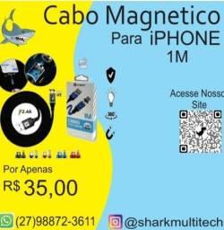 Cabo Magnético para iPHONE 1M