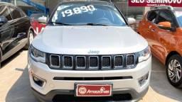 Jeep Compass Limited 2.0 16v 4x2 Automático 6 marchas Flex Prata 2018
