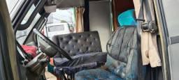 Sofá cama giratório para motorhome, van  ou caminhão
