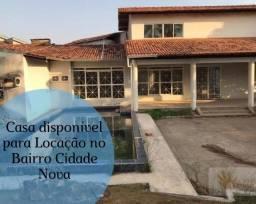Casa disponível para Locação no Bairro Cidade Nova