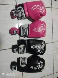 Luvas MMA masculina e feminina