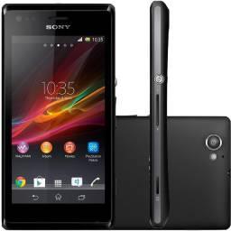 "Smartphone Sony Xperia M Dual Desbloqueado Android 4.1 Tela 4"" 4GB - Preto"
