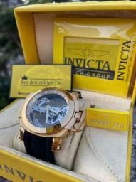Relógio invicta RESERVE fundo transparente