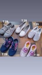 Calçados infantis usados