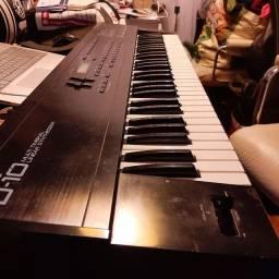 Sintetizador Roland D 10_troco go Keys,imac