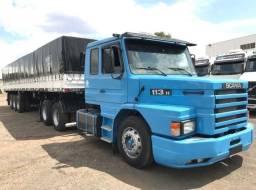 Conjunto Scania 113 Com Carreta Ls Noma