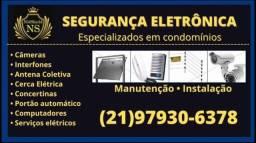 Manutenção de segurança eletrônica - condomínios e residências