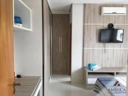 Apartamento Ed. Américan Residence - 3 suites, 3 garagens, Completo de Armários, Sol Manhã