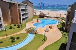 Apartamento no Porto das Dunas pé na areia todo projetado Terramaris Resort