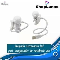 Luz Led Lampada Astronauta Para Computador Notebook USB