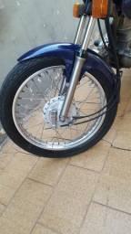 Troco por freio a disco Cg125 99