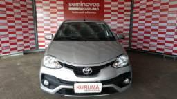 Toyota Etios 1.5 Platinum Sedam 16V Flex 4P Automatico - 2017