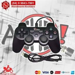 Controle P/ Ps3/Pc Com Fio Fr-205