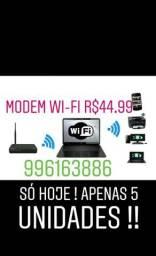 Modem wifi roteador so hoje 05 unidades