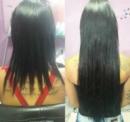 Colocacao de mega hair