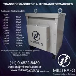 Transformador e Autotransformador