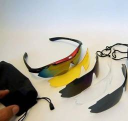 Óculos troca lentes - Ciclismo/Motociclismo