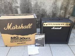 Amplificador Marshall MG 30 DFX para guitarra.Manual Caixa e Nota fiscal
