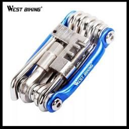 Canivete ferrementas bike bicicleta West Biking