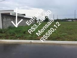 Lotes pagou a entrada e a primeira parcela mensal e o IPTU já pode construir nova Amazônas