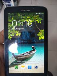 Tablet Samsung tab3 funcionando bem tela de 7