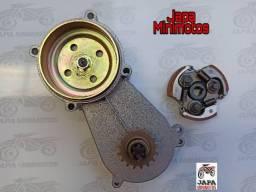 Caixa de Tração+ Embreagem Mini Motos e Quadriciclos 49cc/2t