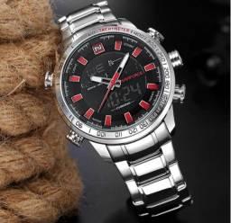 Relógio Militar Naviforce Original Importado Novo