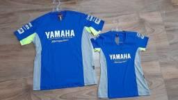 Camiseta casal yamaha original