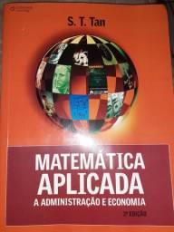 Doação Livro Matemática Aplicada