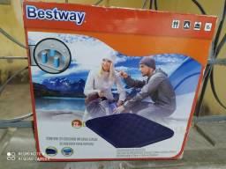 Vendo colchão inflável novo nunca usado