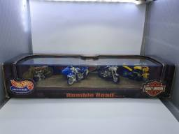 Pack 4 Harley-Davidson Rumble Road - Hot Wheels