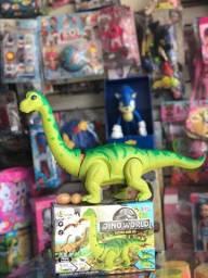 Dinossauro bota ovinhos- ENTREGO GRÁTIS
