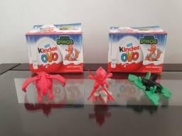 Coleção Kinder Ovo Dinos. 2020. 2 Brinquedos + 2 Caixas