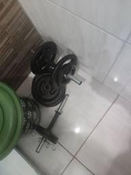 Peso de academia