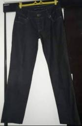 Original Siberian! Uma Calça Jeans Preta - Feminina - Tam 42