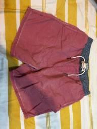 Camisa e bermuda