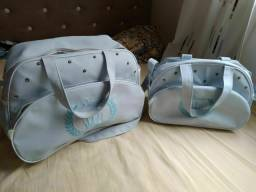 Pra vender hoje! Kit bolsas para bebê, novíssimas!