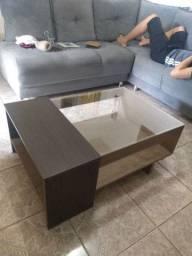 Mesa de centro (Nova) R$ 400 Reais ( pra vender logo)