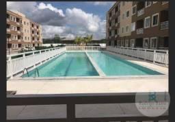 Apartamento com 2 dormitórios para alugar, 53 m² por R$ 750,00/mês - Centro - Eusébio/CE