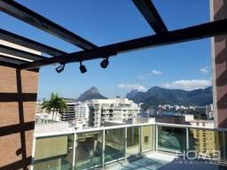 Cobertura com 3 dormitórios à venda, 169 m² por R$ 2.760.000,00 - Lagoa - Rio de Janeiro/R